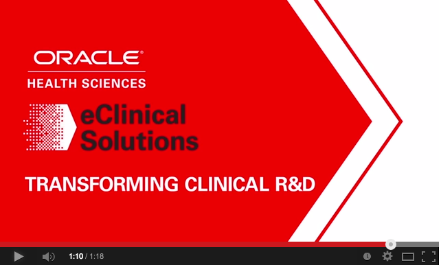 Graphic Design - Video Graphics - Oracle - EClinical Solutions