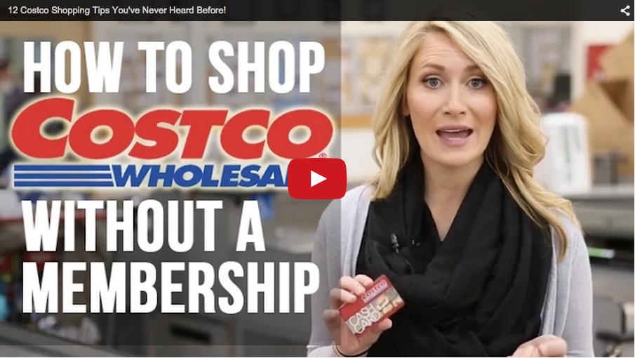 TheKrazyCouponLady.com Costco Video Screenshot
