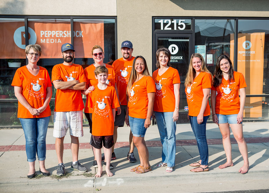 Peppershock, crew, team, PowWow, Peppershock Media, Downtown Nampa