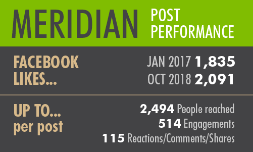 Social Media, Facebook, Performance, Stats, Meridian, Idaho, Restaurant