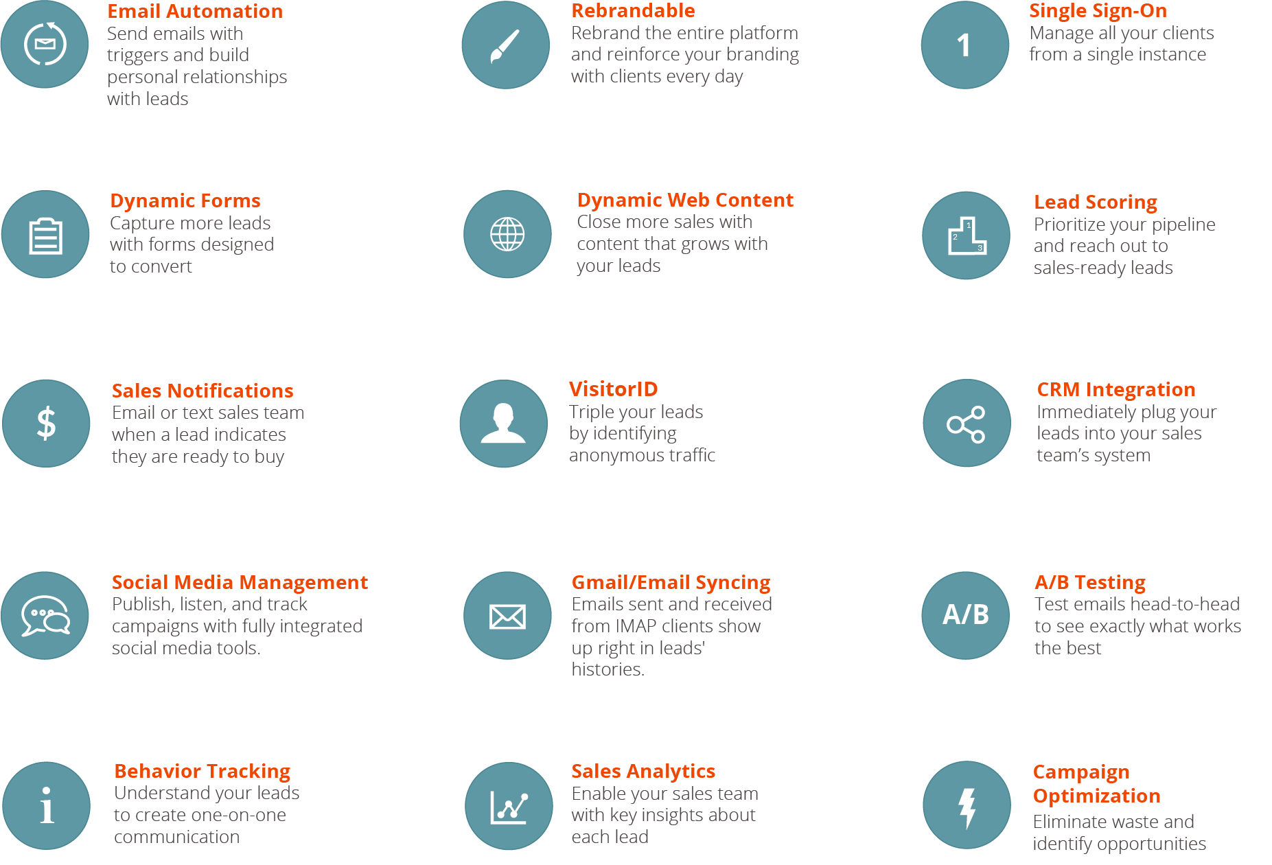 Marketing Automation Features and Tools