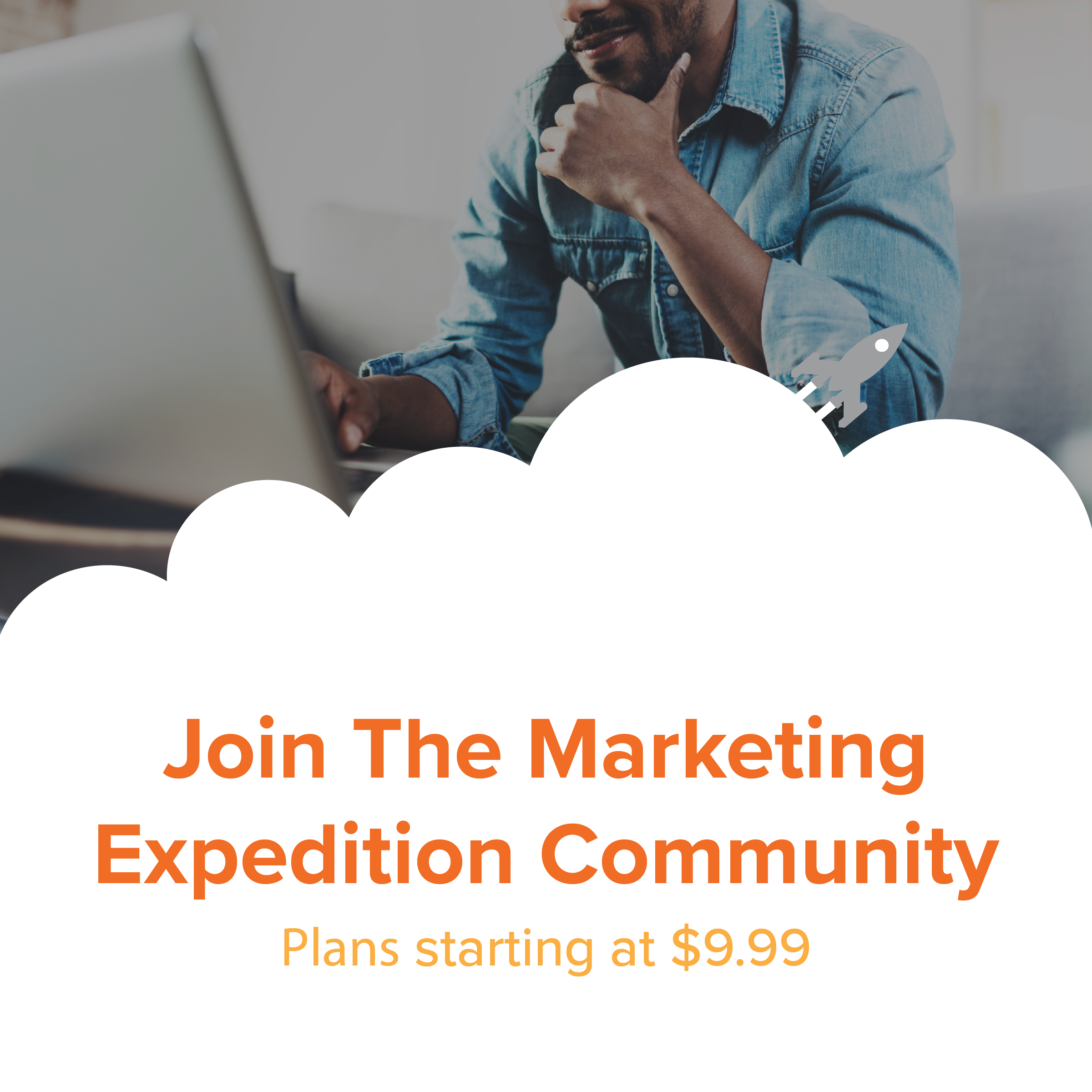 Join the Marketing Expedition Community Graphic