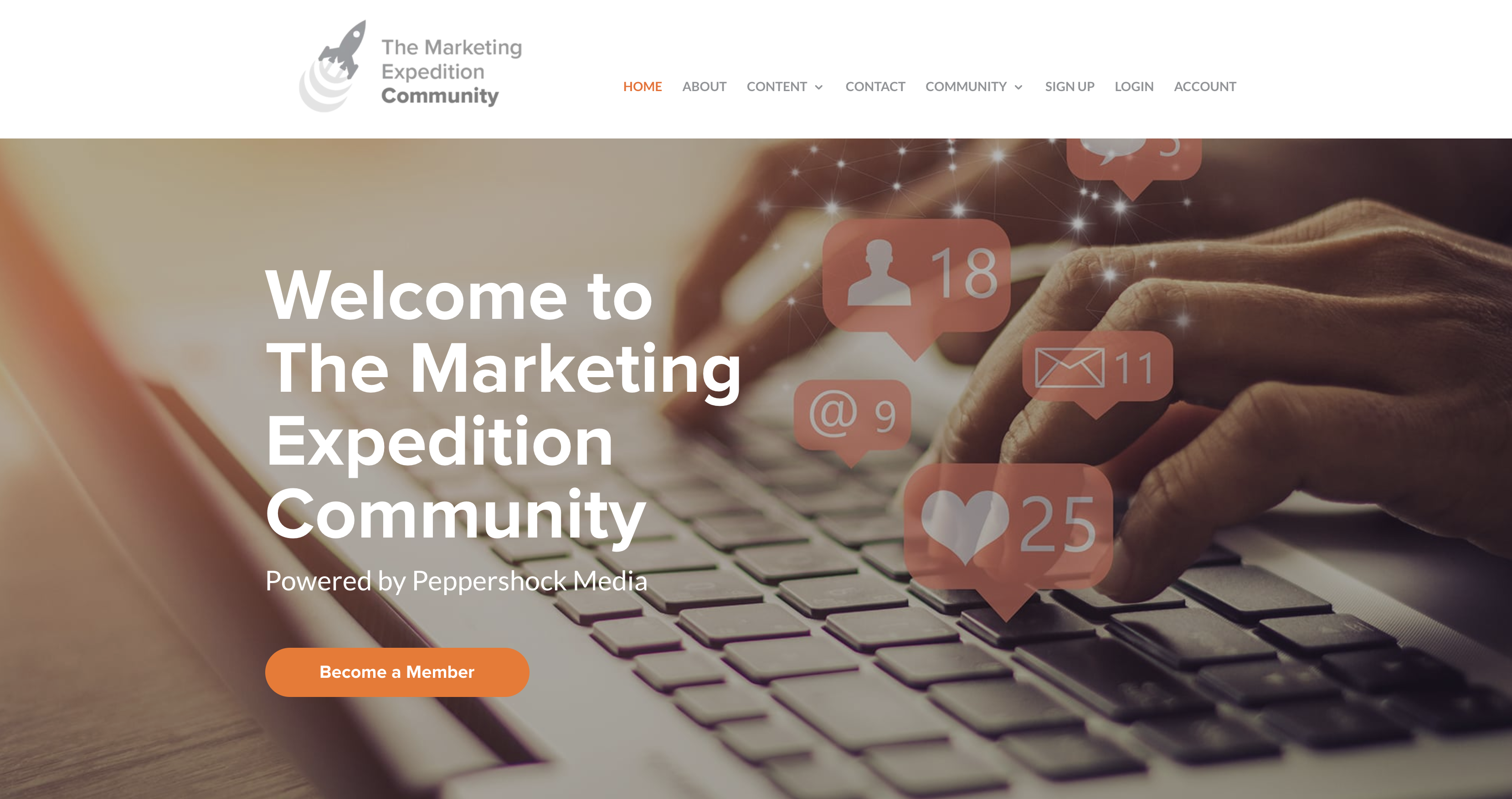 The Marketing Expedition Homepage