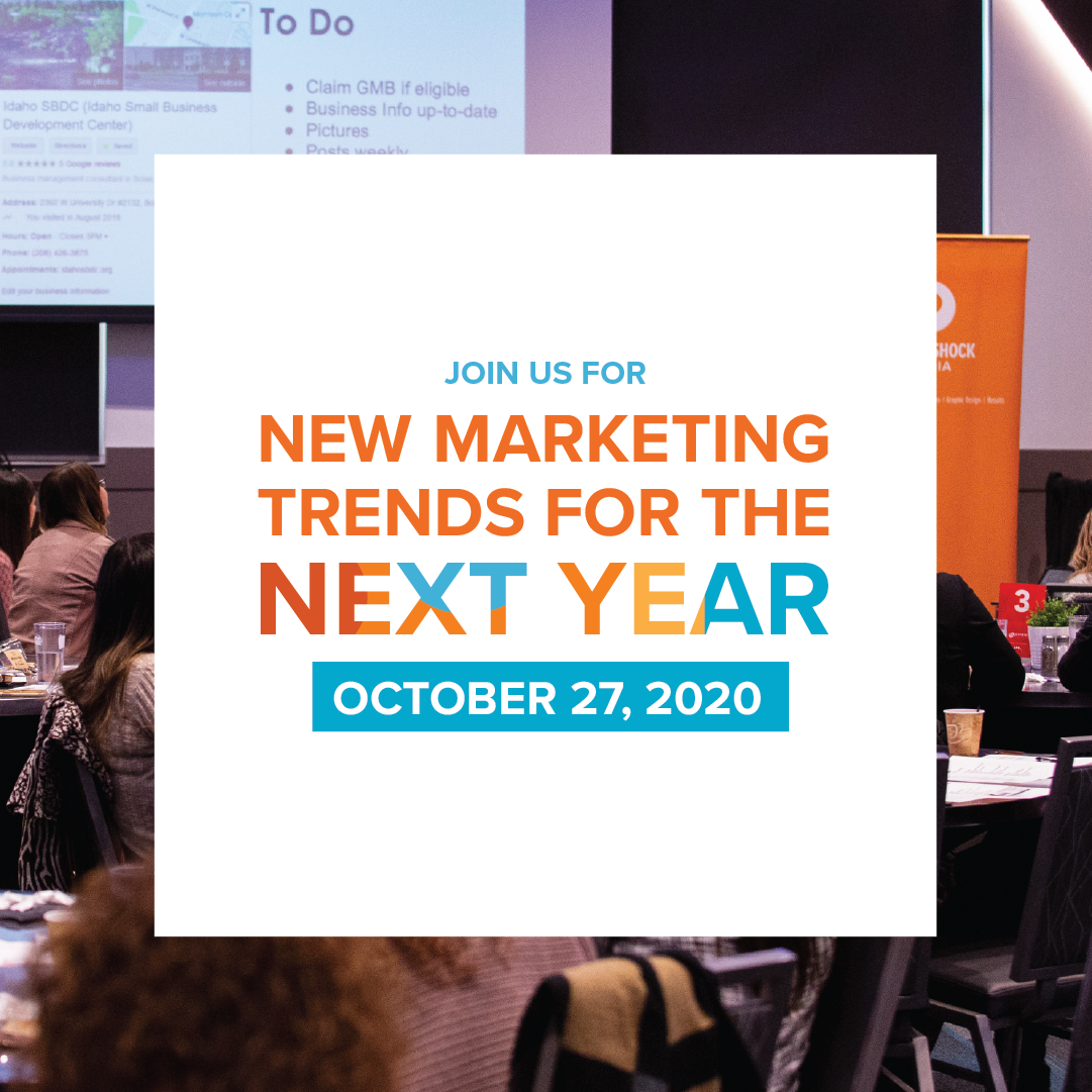 New Marketing Trends for the Next Year Graphic