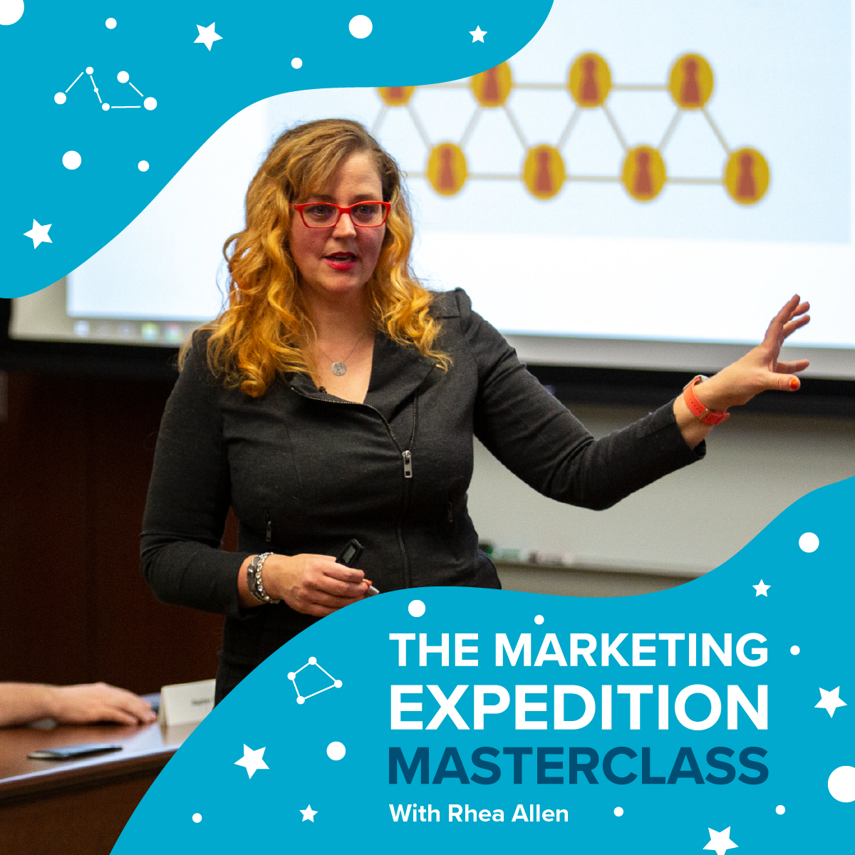Rhea Allen The Marketing Expedition Masterclass Image Graphic