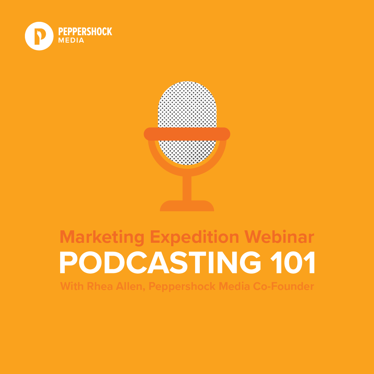 Podcasting 101 Webinar Graphic