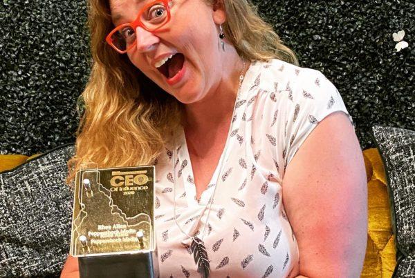 Rhea Allen - CEO of Influence Award - 2020 Idaho Business Review