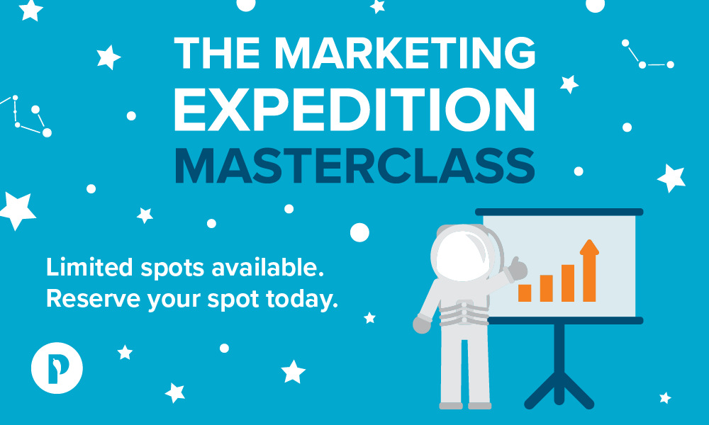 The Marketing Expedition Masterclass Cover Graphic