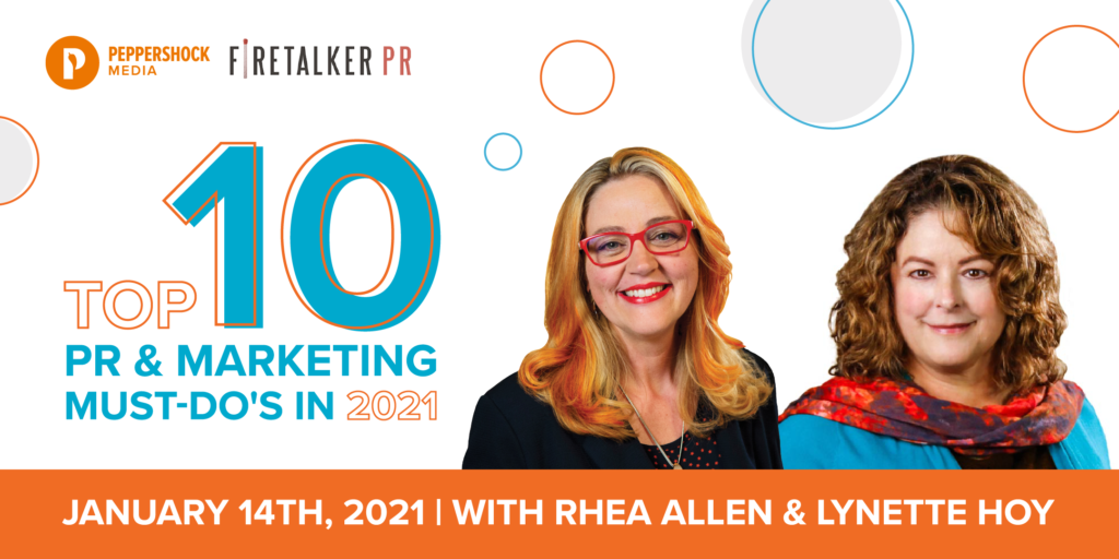 Rhea Allen and Lynette Hoy Top 10 PR & Marketing Must-Do's Cover Photo