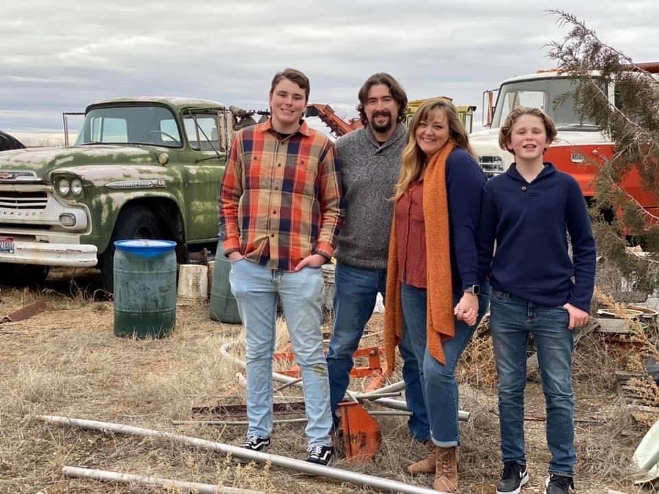 Allen family photos 2020