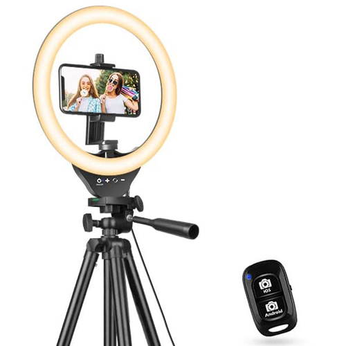 Ring Light for Video Calls, YouTube, Podcasts