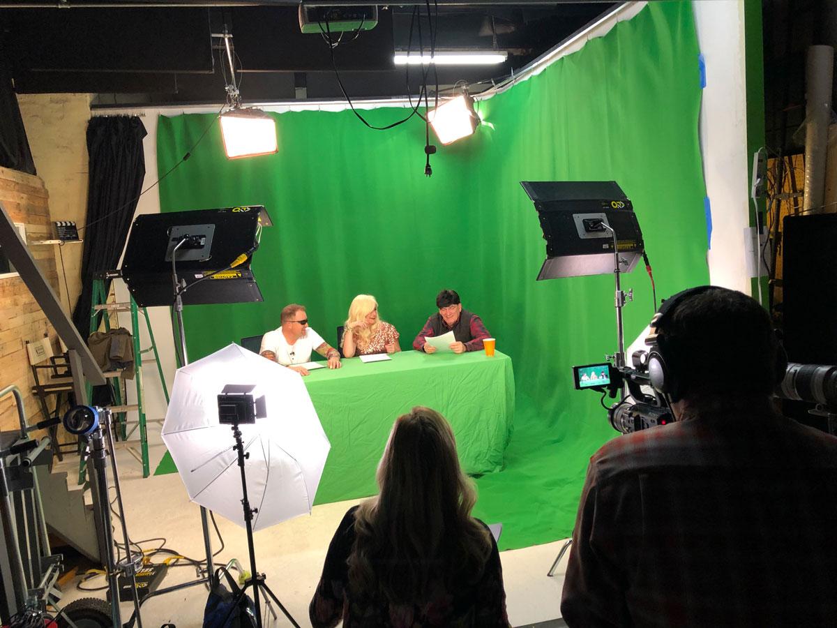 Video Photography Studio Rental Green Screen